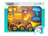 Diy Construction Truck Set(2in1)