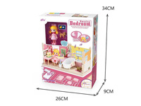 Diy Bedroom Set W/L_M toys