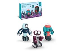 Diy Magnetic Robot(3in1) toys