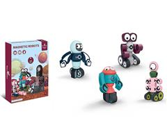 Diy Magnetic Robot(4in1) toys