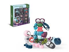 Diy Magnetic Robot(5in1) toys