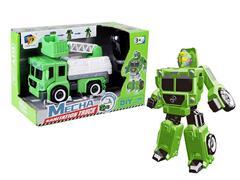 Diy Transforms Sanitation Truck toys