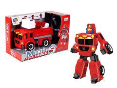 Diy Transforms Fire Engine toys
