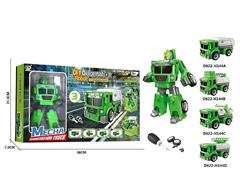 Diy Transforms Sanitation Truck(4S) toys