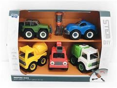 Diy Construction Truck(5in1) toys