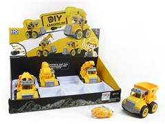 Diy Construction Truck(8in1) toys