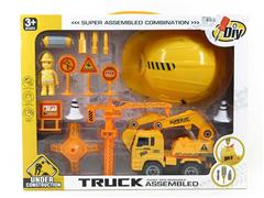 Diy Construction Truck Set toys