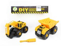 Diy Construction Truck(2in1) toys