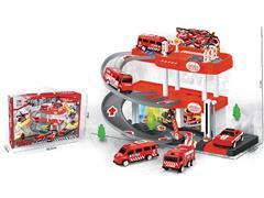 Diy Fire Parking Lot W/L_M(2S) toys