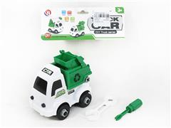 Diy Sanitation Truck toys