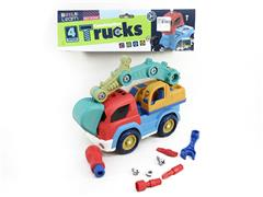 Diy Construction Truck(4S) toys