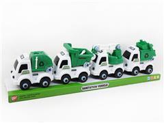 Diy Sanitation Truck(4in1) toys