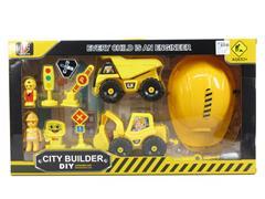 Diy Construction Truck Set toys