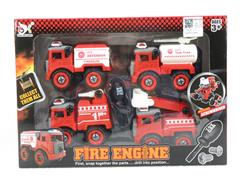 Diy Fire Engine(4in1) toys