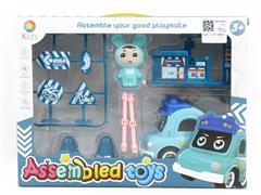 Diy Police Car toys