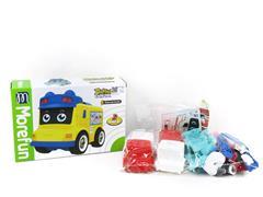 Diy Fire Engine & Ambulance(2in1) toys