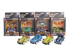 Diy Die Cast Racing Car Pull Back toys