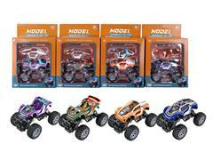 Diy Die Cast Racing Car Pull Back(8S4C) toys