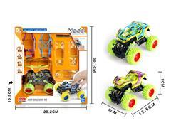 Diy Die Cast Racing Car Pull Back(2C) toys