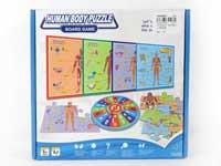 Human Body Puzzle Set