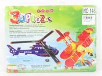 3D Puzzle Set