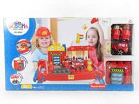 Toy connecting blocks fire engine Blocks(30pcs) toys