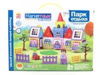Magnetic Castle Block W/L(66PCS)
