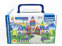 Magnetic Castle Block W/L(92PCS)