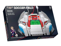 Good gift intellectual big bricks toy set soccer field model toys