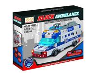 Blocks Police Car W/L_M(2C) toys