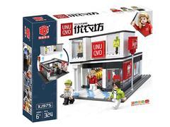 Blocks(324pcs) toys