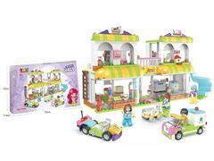 Blocks(688PCS) toys