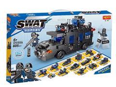 Blocks(605PCS) toys