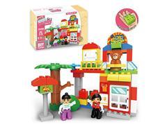 Blocks(64派出所) toys