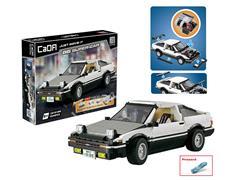 Block Racing Car(1234pcs) toys