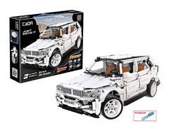 Block Cross-country Car(2208pcs) toys