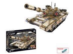 Block Tank(1722pcs) toys