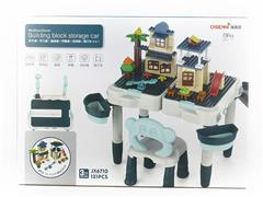 Building Block Table & Chair toys