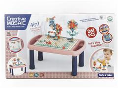 Building Block Table(261pcs) toys