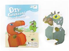 3D立体拼图-恐龙动物人偶装