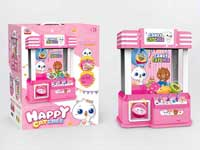 Vending game mini candy grabber machine toys