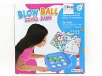 Blow Ball Board Game