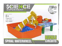 Hydrodynamic Screw Water Wheel toys