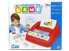 Alphabetic Vocabulary Learning Machine toys