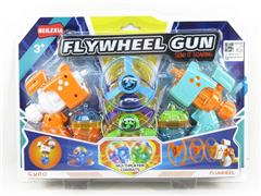 2in1 Flying Saucer Top Gun W/L(2in1) toys
