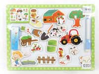 Drawing Board & Puzzle