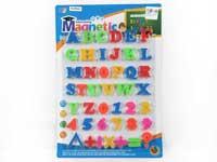 Magnetic English Letters & Numeric Symbols