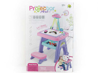 Projection Painting Learning Table