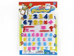 Magnetic English Letters & Numeric