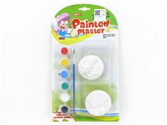 Painted Plaster Christmas toys
